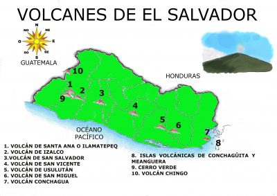 mapa-del-salvador-con-sus-volcanes