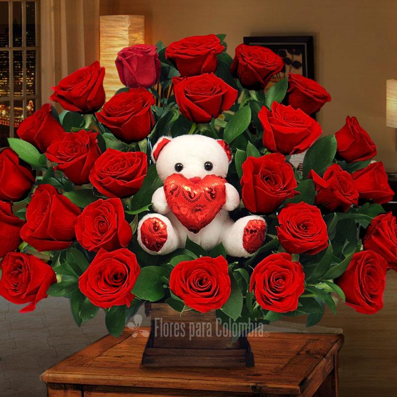 Imágenes de ramos de rosas para regalar | Descargar imágenes gratis