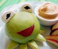 Imágenes creadas con frutas
