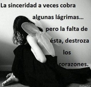 mujeres tristes con frases