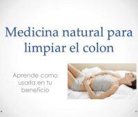 Medicina natural para limpiar el colon