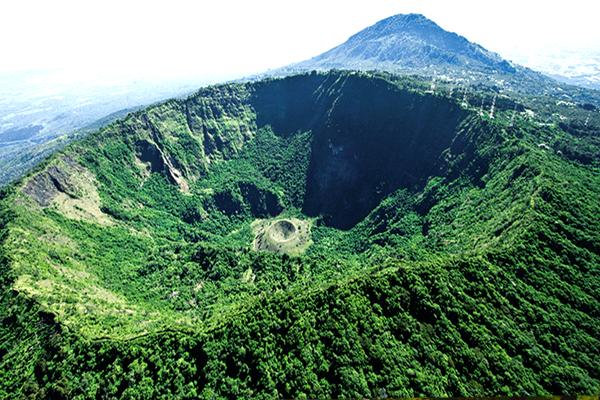 Parque Nacional El Boquerón turismo en el salvador