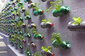 botes-plasticos-reciclados-adornos-para-el-jardin-reciclados