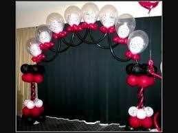 Imagenes de decoracion con globos para graduación bonitos