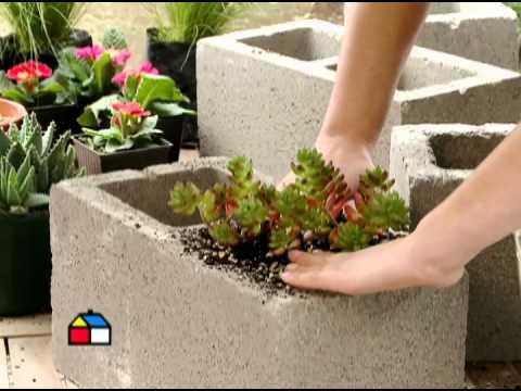decoraciones-del-jardin-con-bloques-de-cemento-11