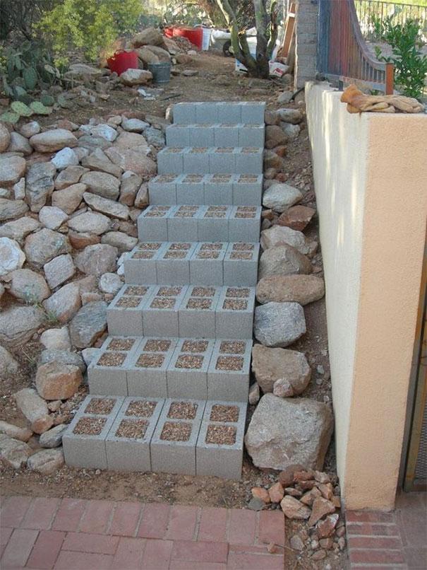 decoraciones-del-jardin-con-bloques-de-cemento-16