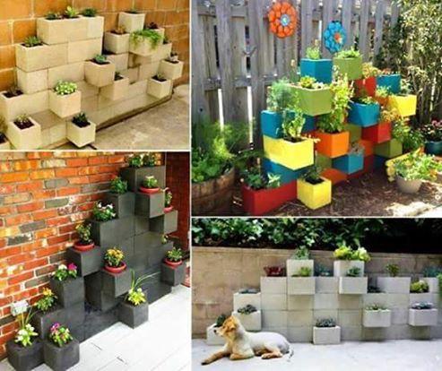 decoraciones-del-jardin-con-bloques-de-cemento-8