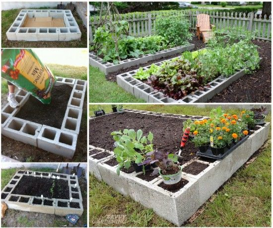 decoraciones-del-jardin-con-bloques-de-cemento3