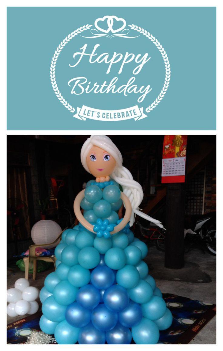 decoracion-con-globo-frozen-14