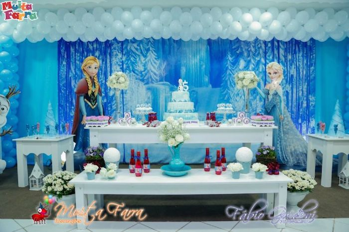 decoracion-con-globos-frozen
