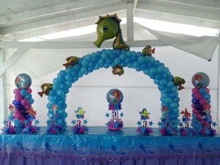 decoraciones-con-globos-de-frozen-1
