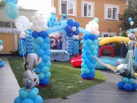decoraciones-con-globos-de-frozen-3