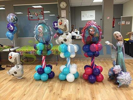 decoraciones-con-globos-de-frozen-4