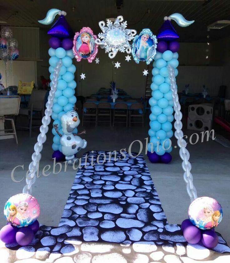 decoraciones-con-globos-de-frozen-5