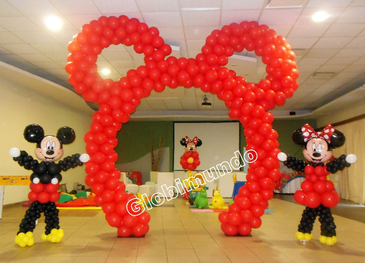 decoraciones-con-globos-de-minnie-3