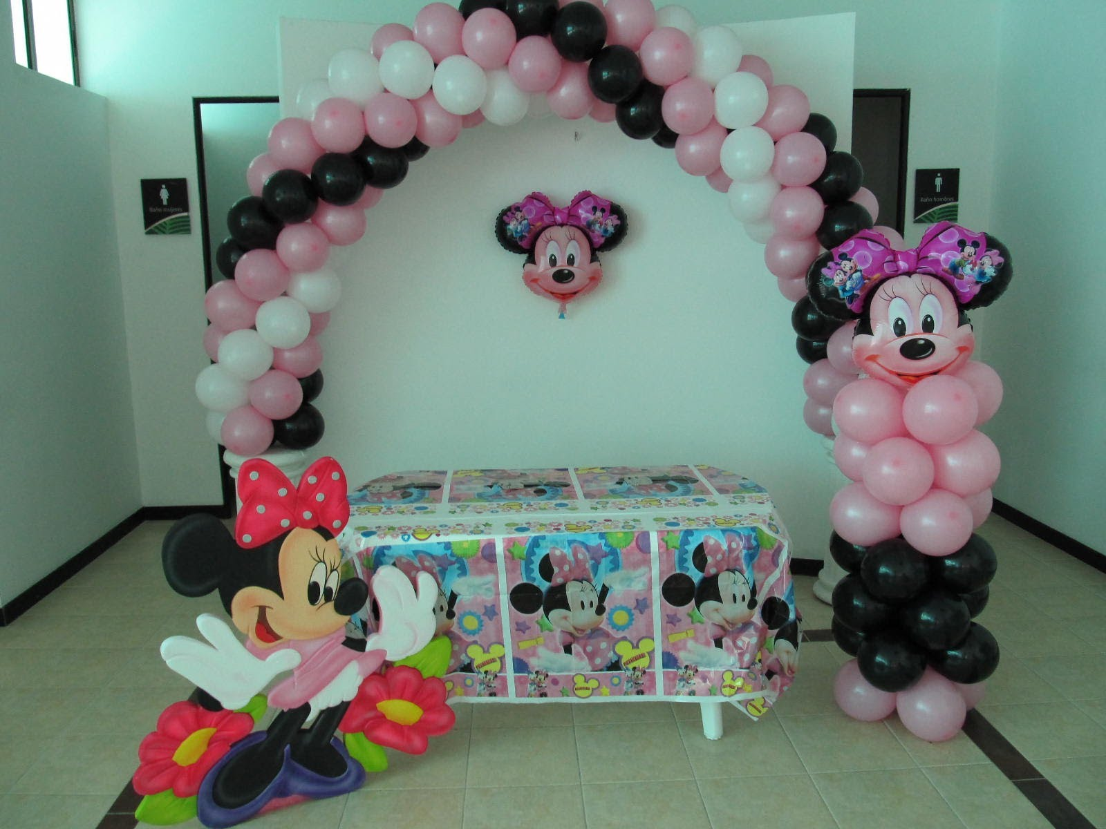 decoraciones-con-globos-de-minnie-4