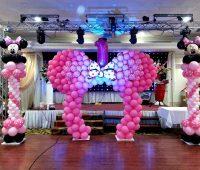 Imagenes de decoraciones con globos de minnie