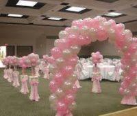 Imagenes de decoraciones con globos para 15 años