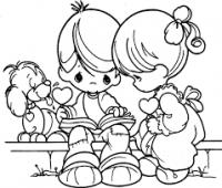 Imágenes de niños para dibujar