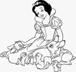 dibujo-para-colorear-blancanieves-y-los-siete-enanitos1