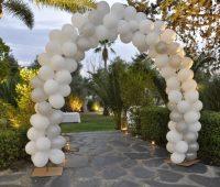 Imagenes de decoraciones con globos para una boda