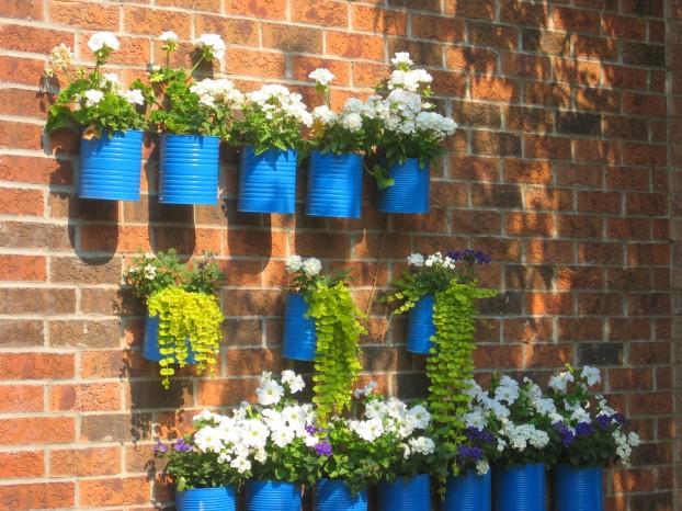 latas-de-conserva-recicladas-adornos-para-el-jardin-reciclados