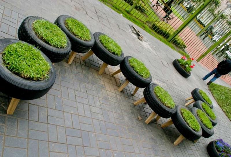 llantas-recicladas-adornos-para-el-jardin-reciclados