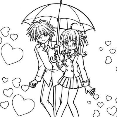 Imágenes de anime para colorear   Descargar imágenes gratis