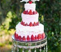 Imagenes de pastel para boda con adornos