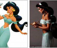 Imágenes de la princesa Jazmín real