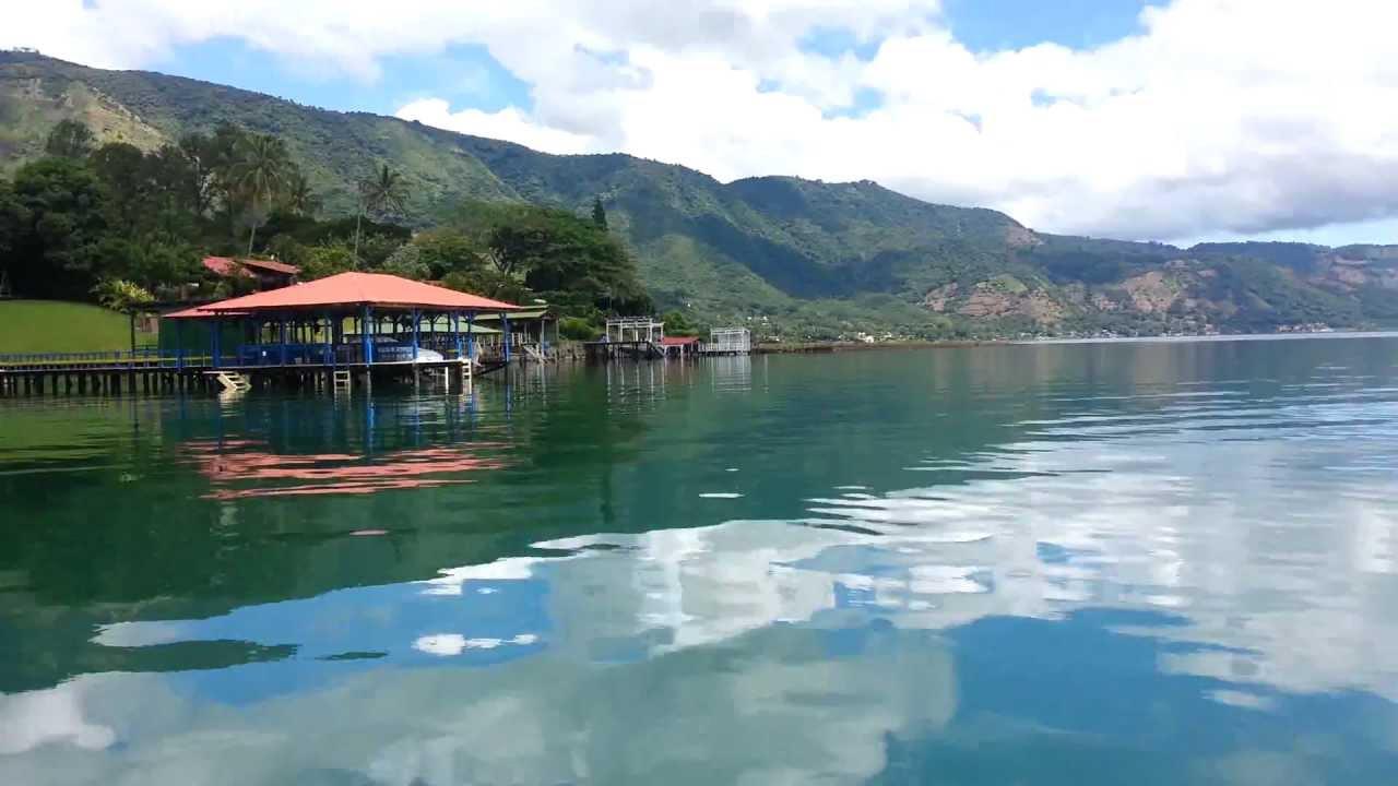 Lago de coatepeque turismo en el salvador