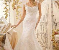 Imágenes de vestidos de novia con encaje