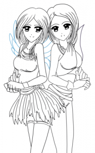 yin-and-yang-anime-twins-coloring-page