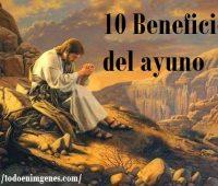 10 Beneficios del ayuno