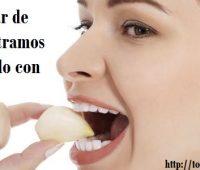 Comer ajo para adelgazar medicina natural