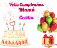 Imágenes de feliz cumpleaños Ceci