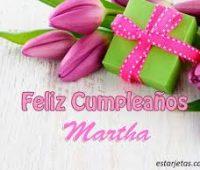 Imágenes de feliz cumpleaños marta