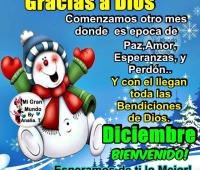 Imágenes de bienvenido diciembre