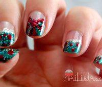 Imágenes de decoraciones navideñas para uñas
