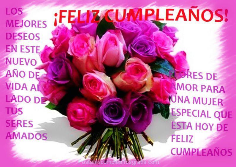 Imagenes De Feliz Cumpleanos Hermana Con Rosas Descargar Imagenes