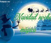Imágenes de Navidad noche mágica