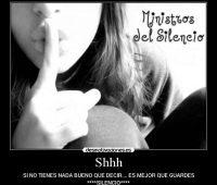 Imágenes de motivación de el valor del silencio