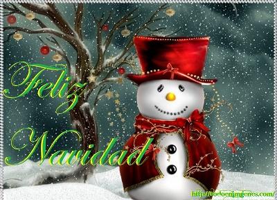 feliz-navidad-con-munecos-de-nieve