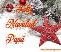 Imágenes de feliz navidad papá