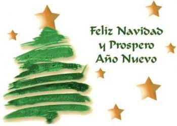 feliz navidad y prospero año nuevo para todos nuestros amigos