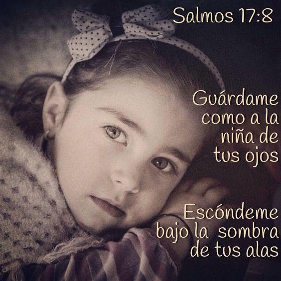 Eres una persona especial para Dios el te a puesto como la niña de los ojos