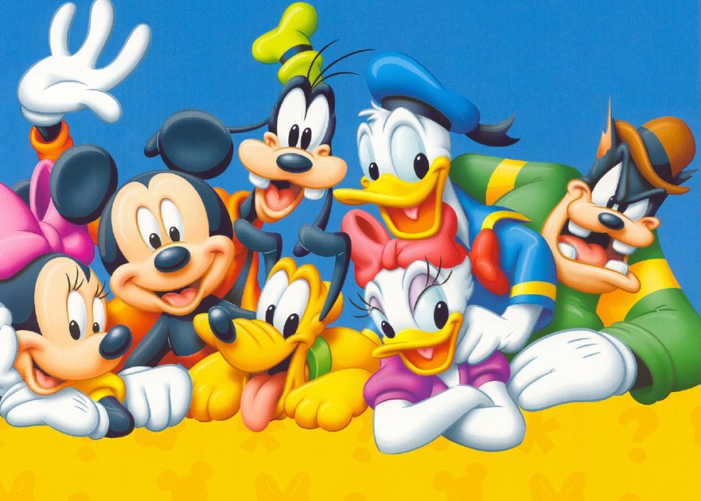 El pato donald es uno de los mejores dibujos animados para que los puedas descargar.