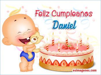 Feliz cumpleaños Daniel