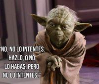 Imágenes con Frases del Maestro Yoda
