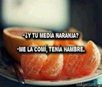 Imágenes con frases para tu 12 naranja
